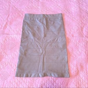 Light Blue Bebe Fitted Pencil Skirt size P…